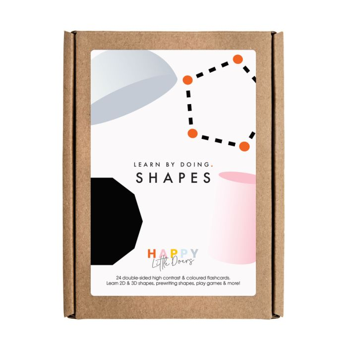 Learn by Doing - Shapes Flashcards