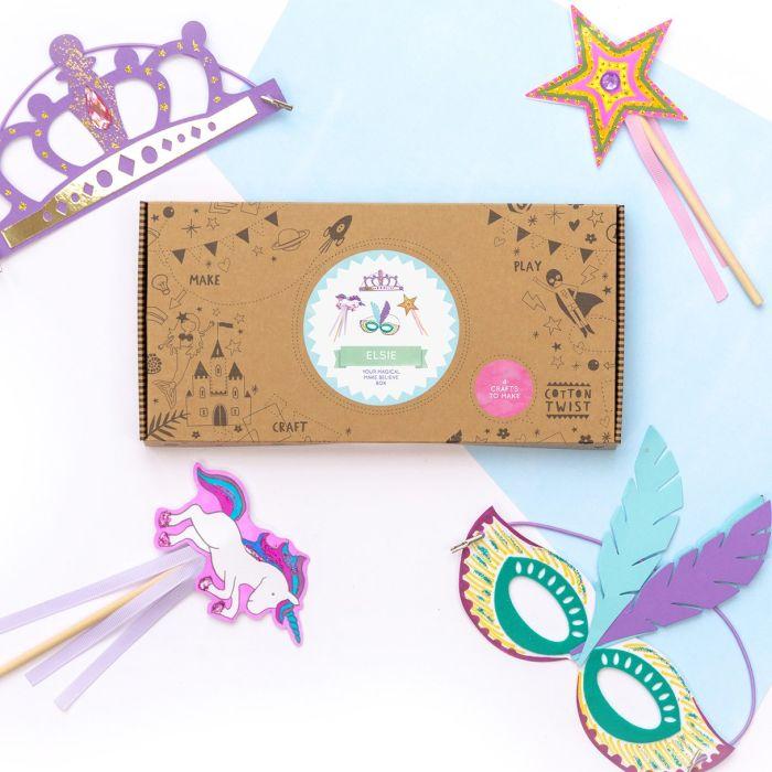 Make Believe Craft Kit Activity Box