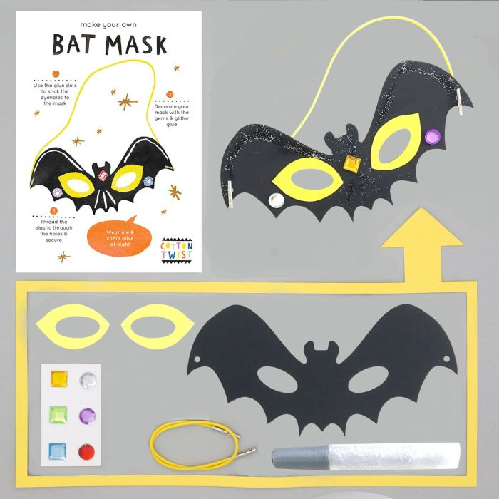 Make Your Own Bat Mask Kit