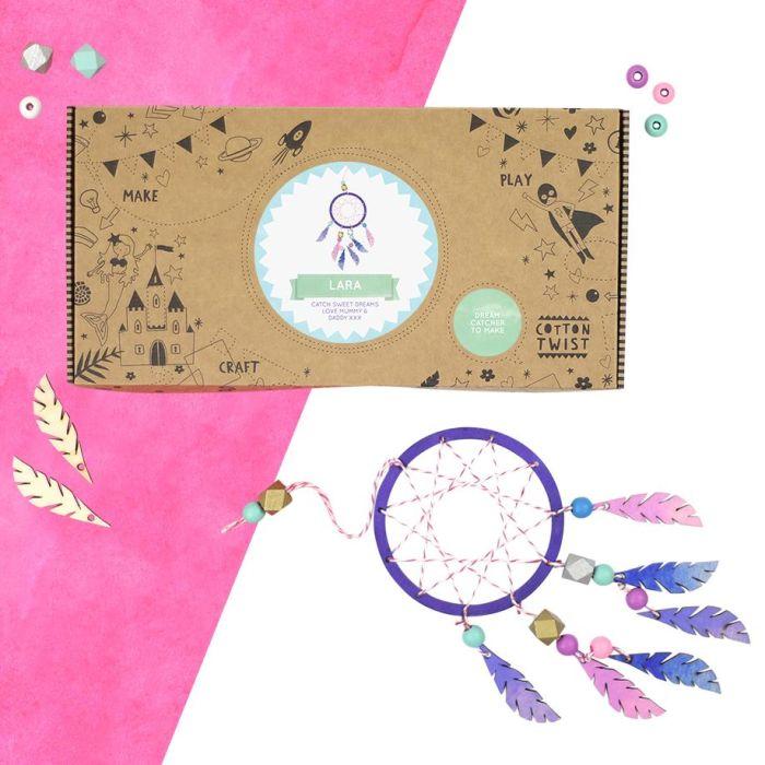 Make Your Own Dreamcatcher Craft Kit Activity Box