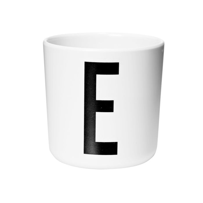 Design Letters Melamine Baby Cup