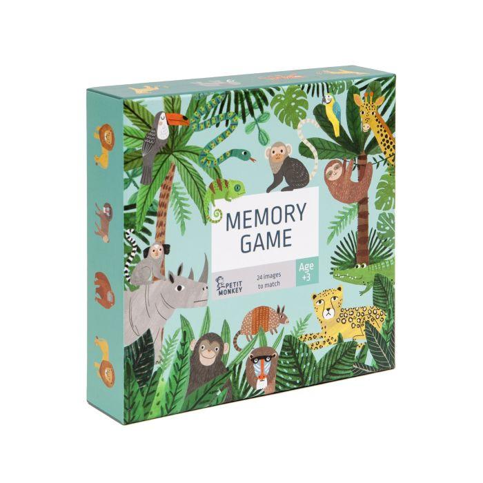 Memory Game - Jungle Animal