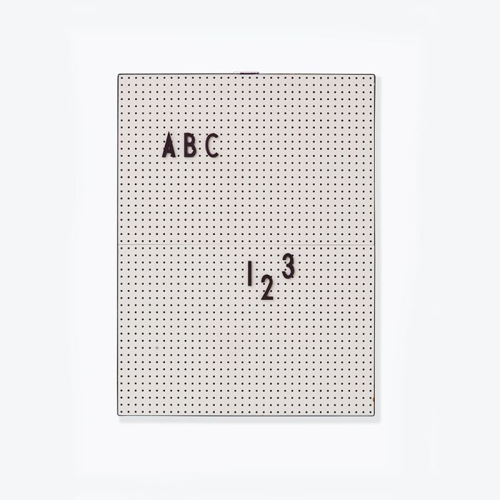 Message Board - Grey (a4)
