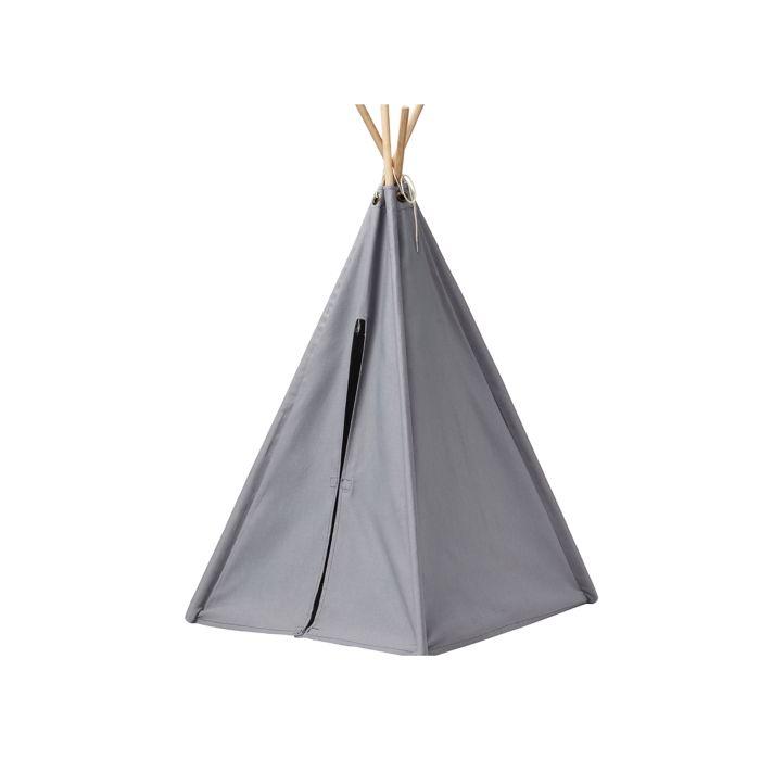 Mini Play Toy Tipi Tent - Grey