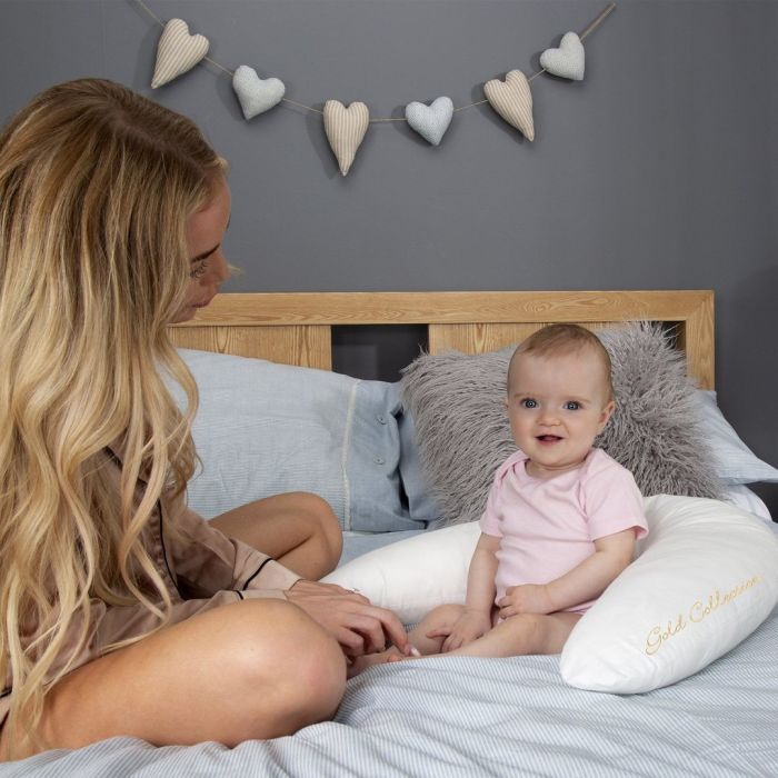 Mother & Baby - Organic Cotton Feeding & Infant Support Pillow