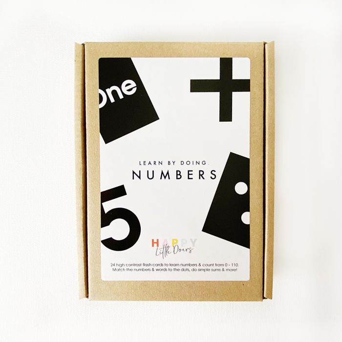 Numbers Learning Cards