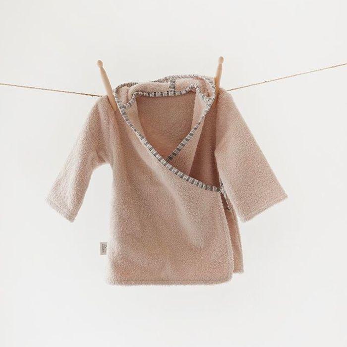 Organic Cotton Bathrobe - Pink