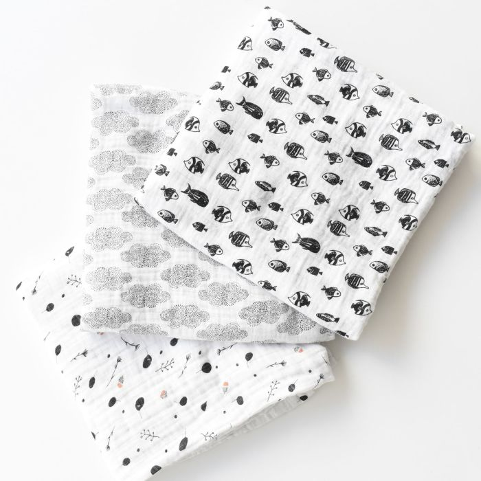 Organic Cotton Swaddle - Seedling