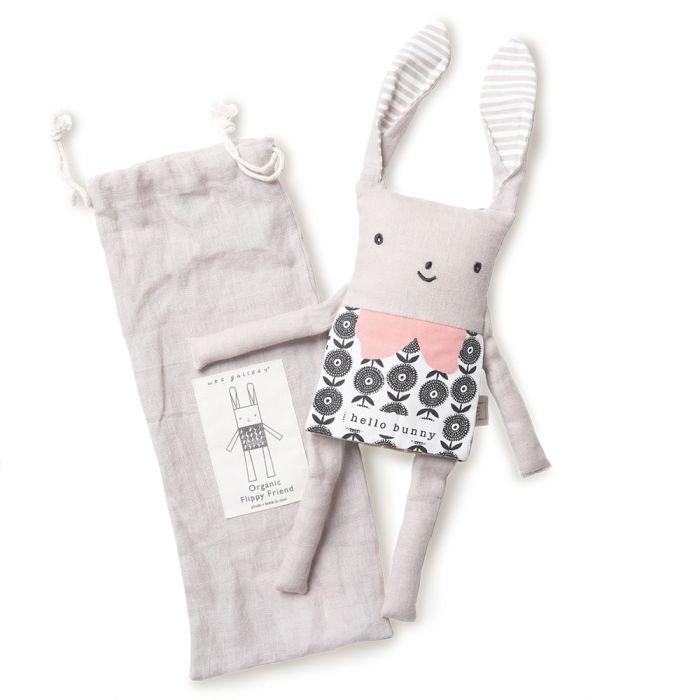 Organic Flippy Friend - Bunny