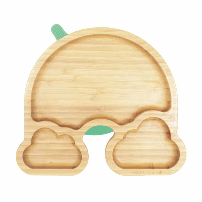 Over The Rainbow Bamboo Baby Weaning Plate