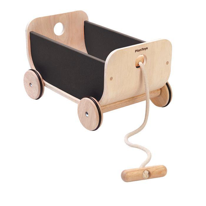 Pull-along Wagon - Black