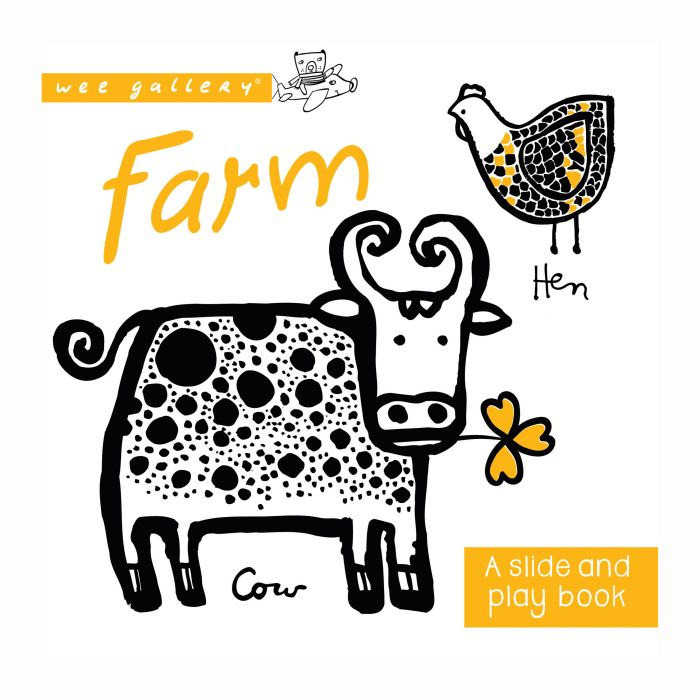 Slide And Play Book - Farm