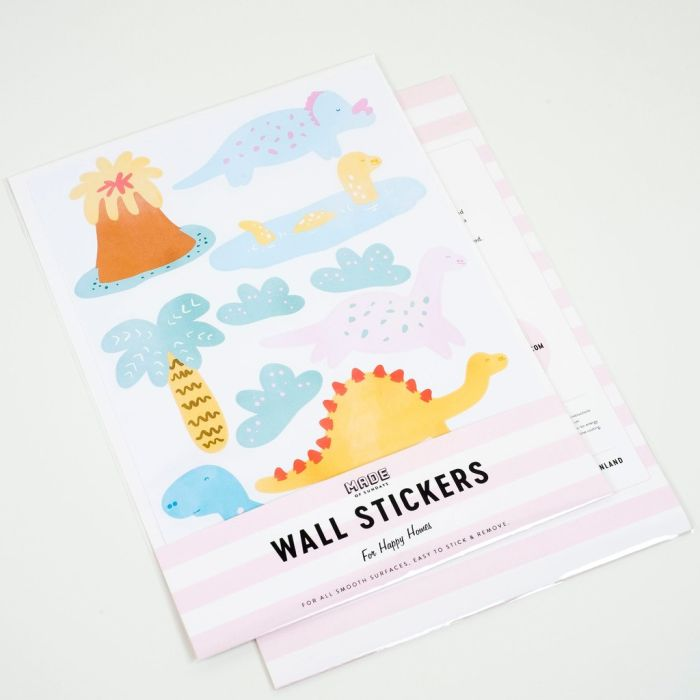 Small Dinosaurs A4 Decals