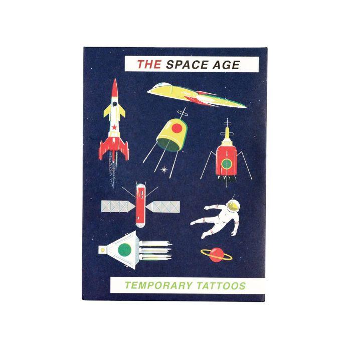 Space Age - Temporary Tattoos