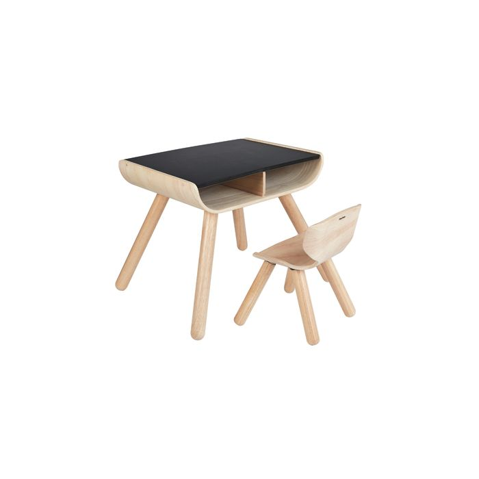 Table & Chair - Black