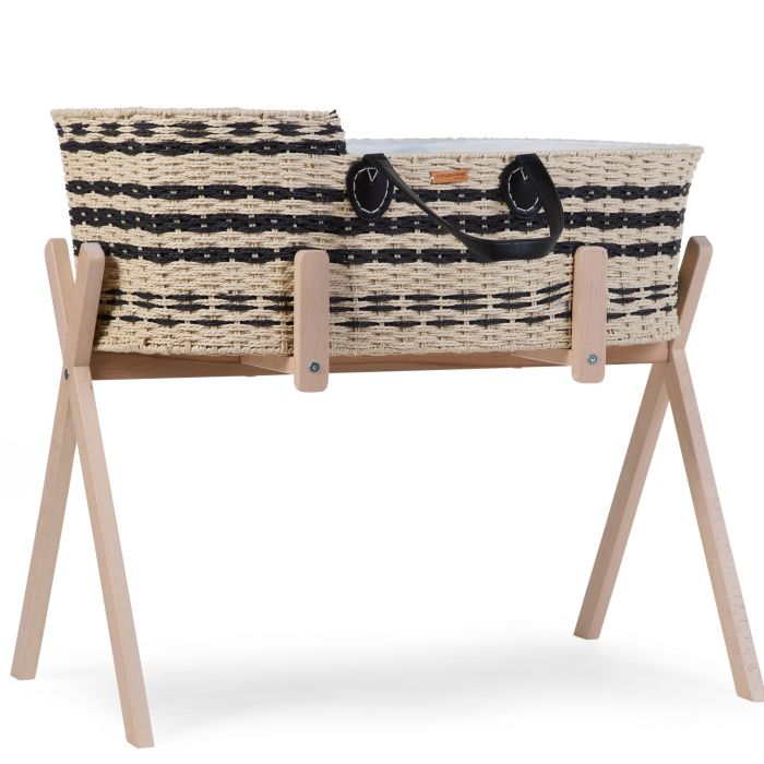 Tipi Stand for Moses Basket & Play Gym - Natural Wood