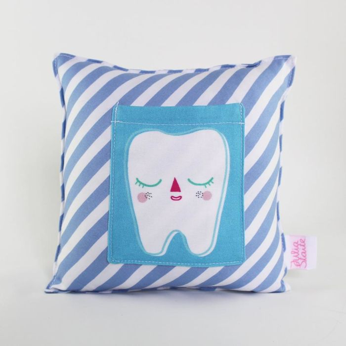 Tooth Pillow - Blue