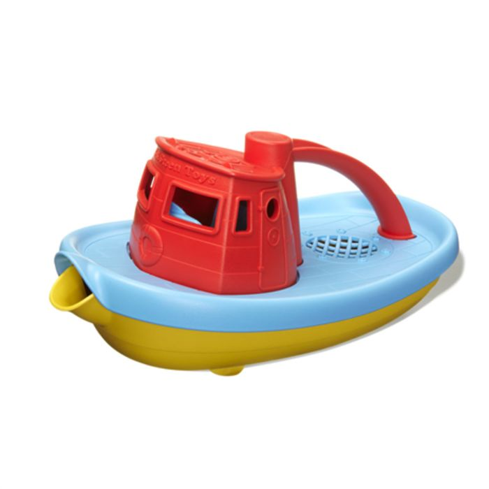Tugboat (Red) Bath Toy