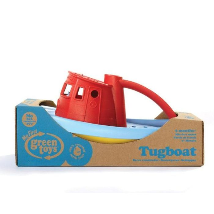 Tugboat (Red) Bath Toy