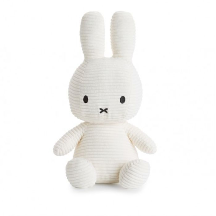 White Corduroy Miffy Soft Toy - Large