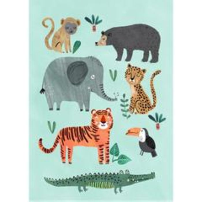 Wild Animals Poster