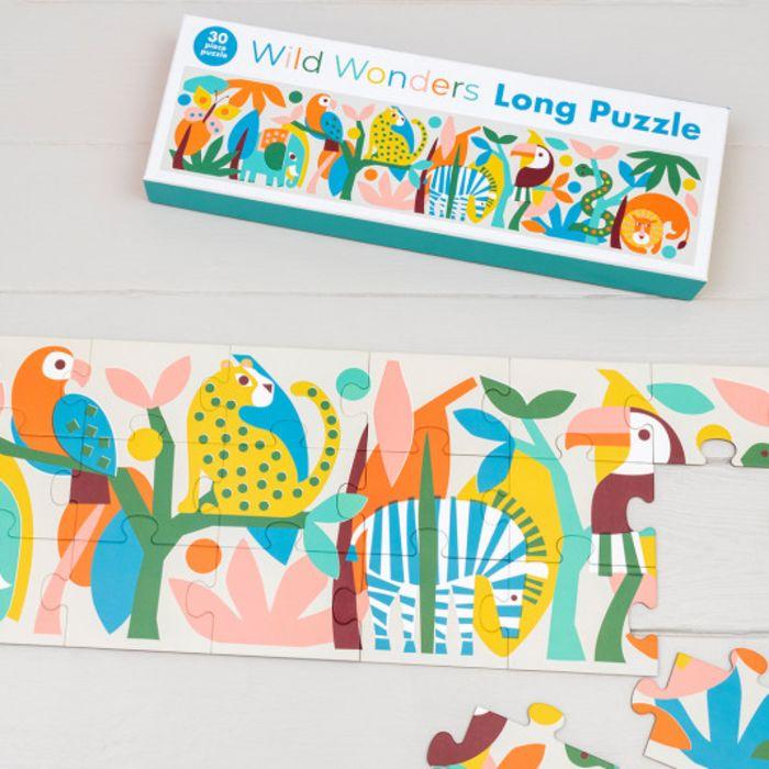 Wild Wonders Long Puzzle