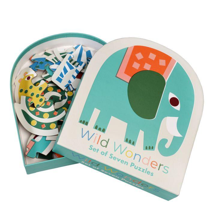 Wild Wonders Set of 7 Puzzles