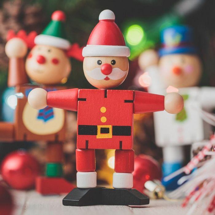Wooden Christmas Flexi Figure
