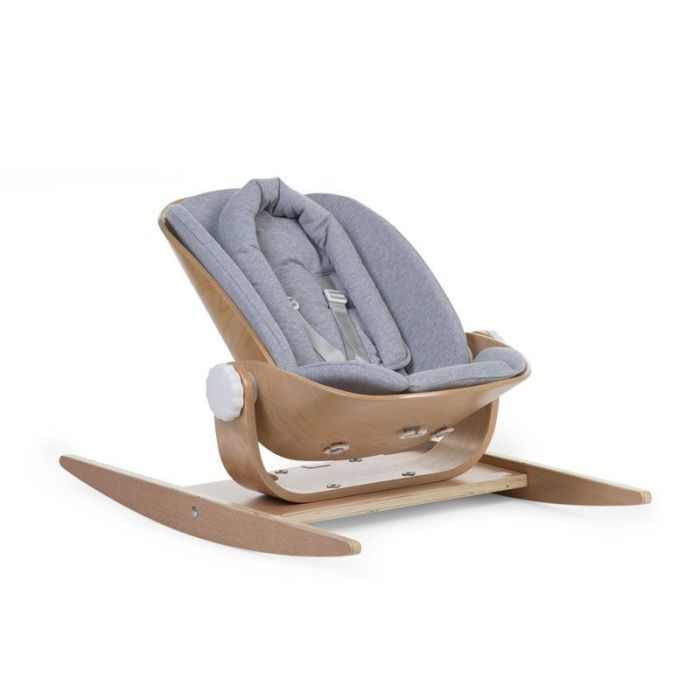 Wooden Rocker Jersey Seat Cushion - Grey Marl (cushion only)