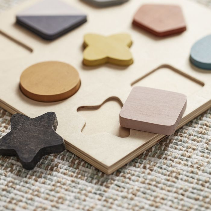 Wooden Shapes Puzzle - Geo
