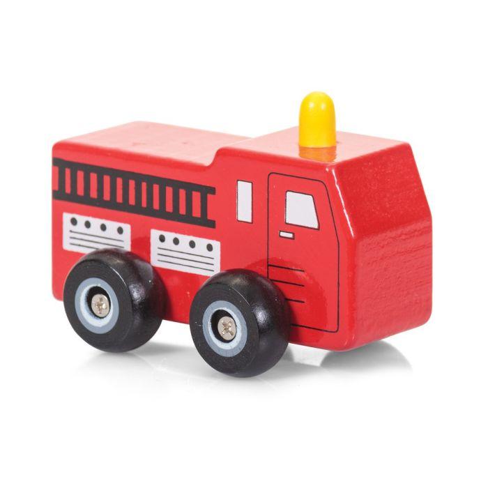 Wooden Wheels Toy Car