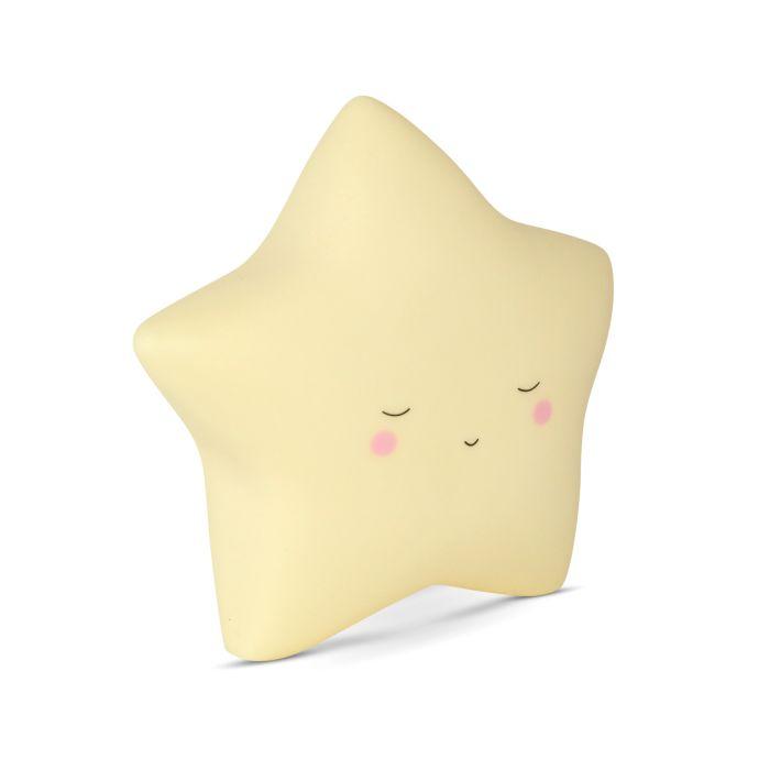 Yellow Star Night Light - Small