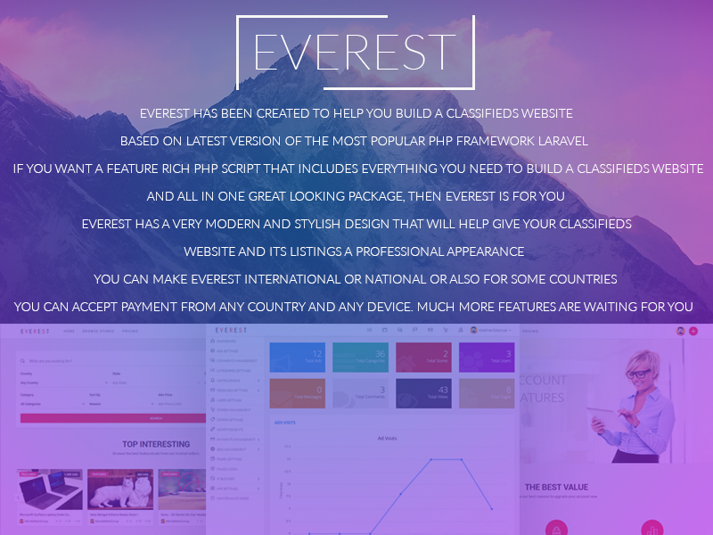 EVEREST - PHP Classified Ads Script - 2