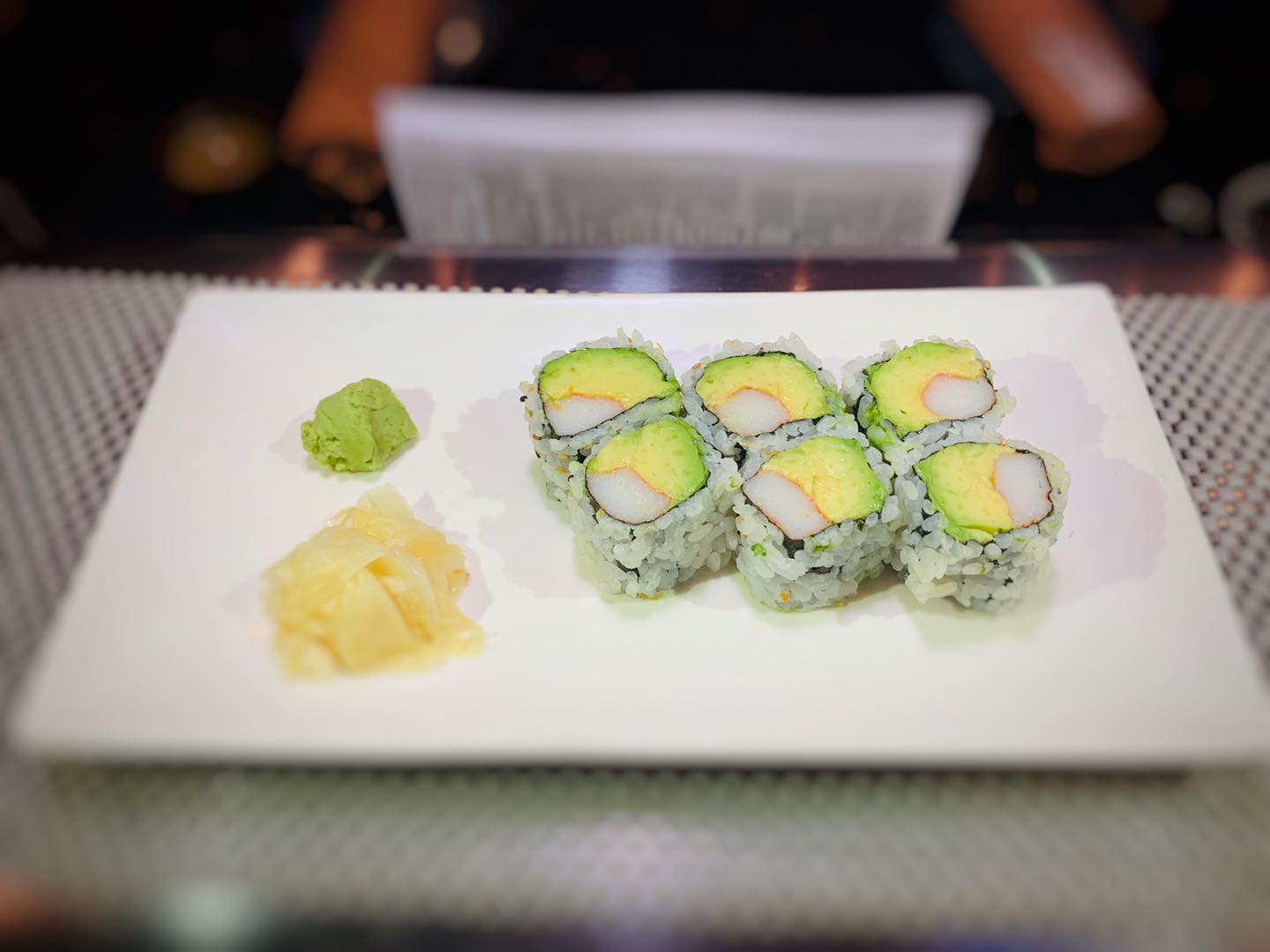 Photo of Sushi Cut Roll or Hand Roll