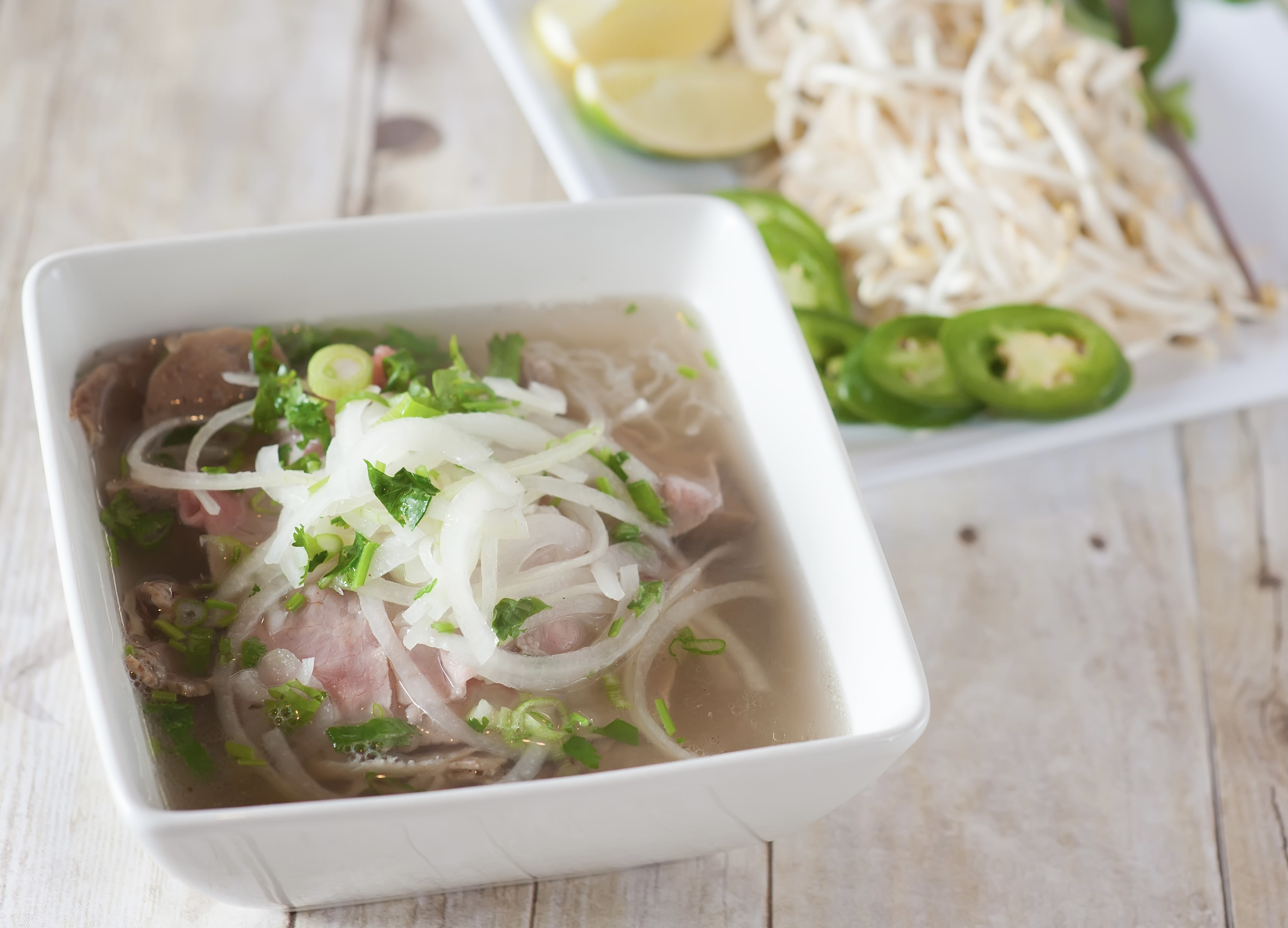 Photo of PHO: BEEF NOODLE SOUP