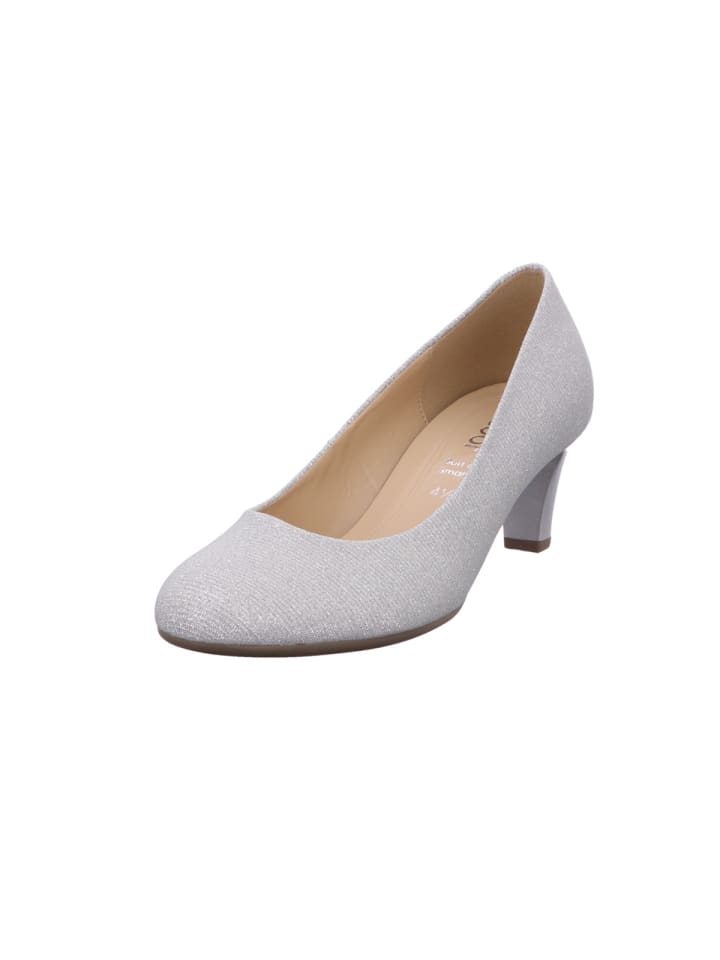 Pumps in silber
