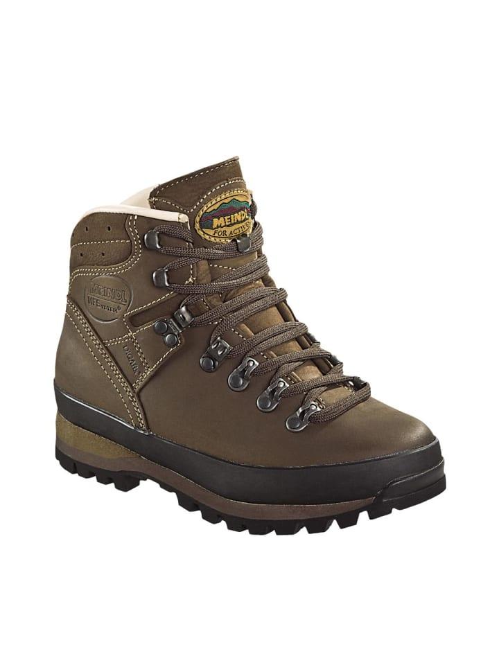 MEINDL Schuhe Borneo Lady 2 MFS in dunkelbraun/nougat