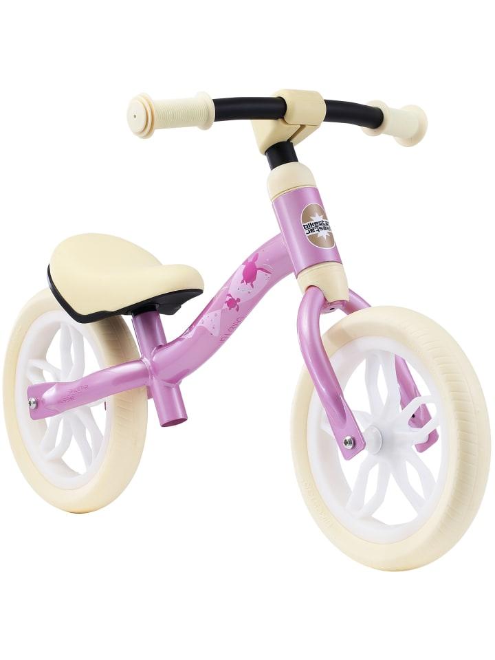"""BIKESTAR Kinder Laufrad """"Superleicht 2 in 1"""" in Pink - 10 Zoll"""