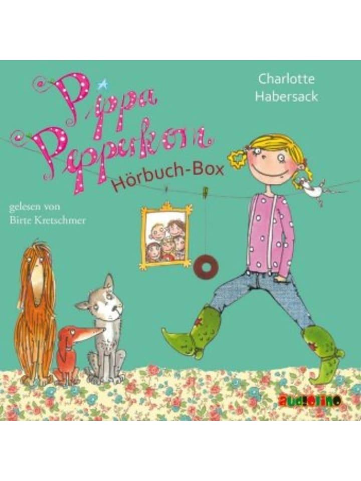 Audiolino Pippa Pepperkorn Hörbuch-Box, 5 Audio-CDs