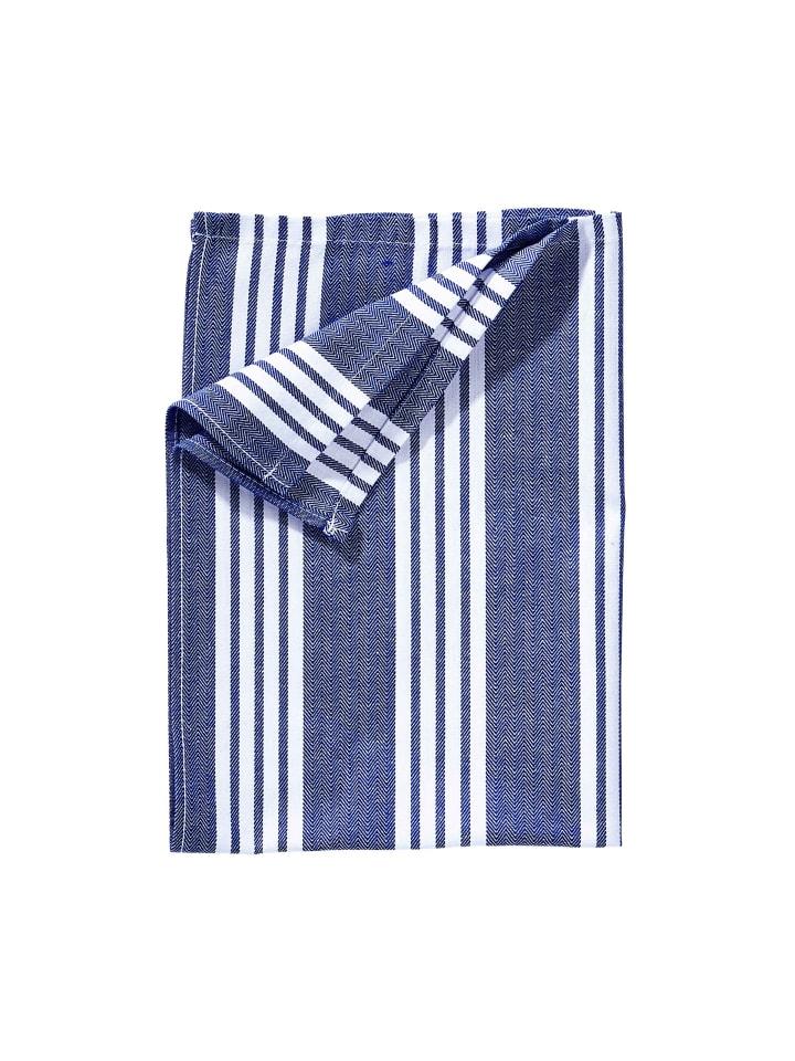Butlers 3x Küchentuch LOFT in Blau