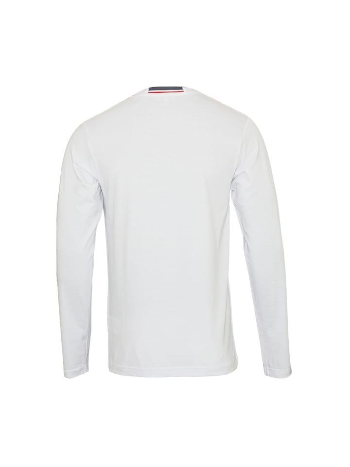 U.S. Polo Assn. Polo LongSleeve Shirt in Weiß