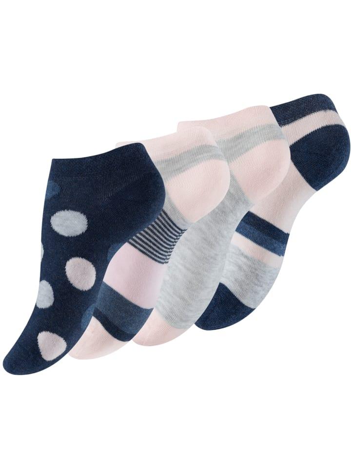 Vincent Creation® Sneaker Socken 8 Paar, im Mustermix in Bunt