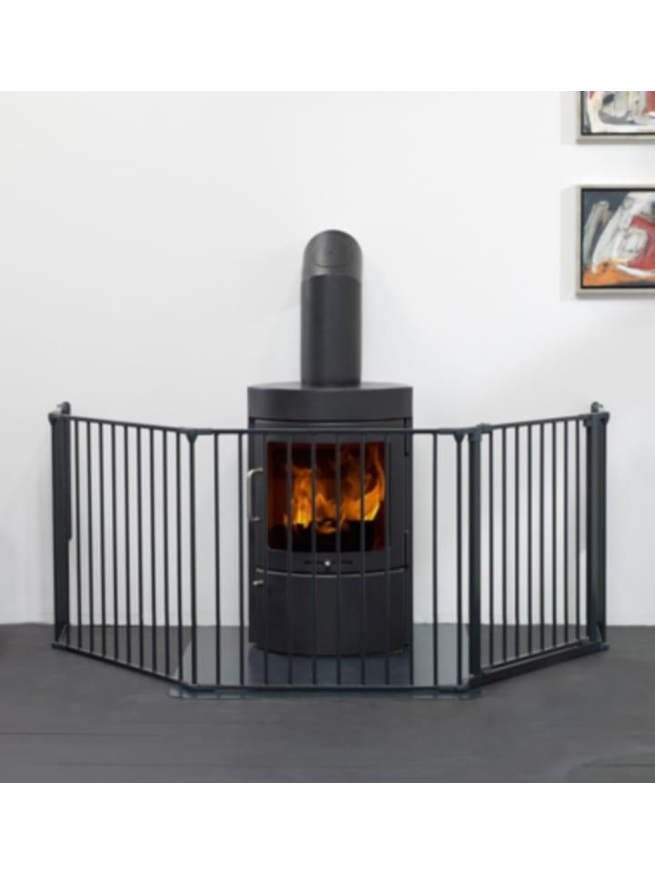 Baby Dan Konfigurationsgitter Flex L, schwarz, 90 - 224 cm