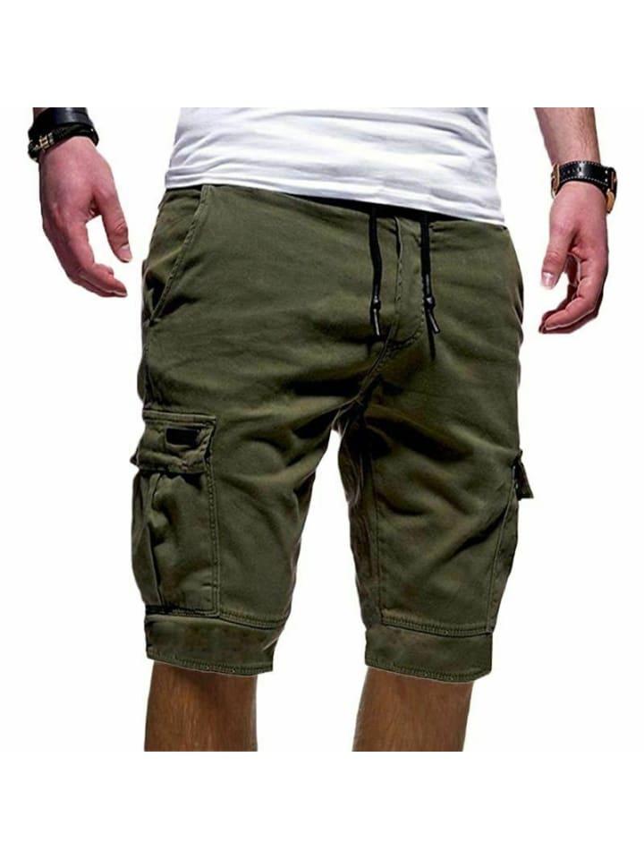 Behype Cargo-Shorts SEAN in khaki