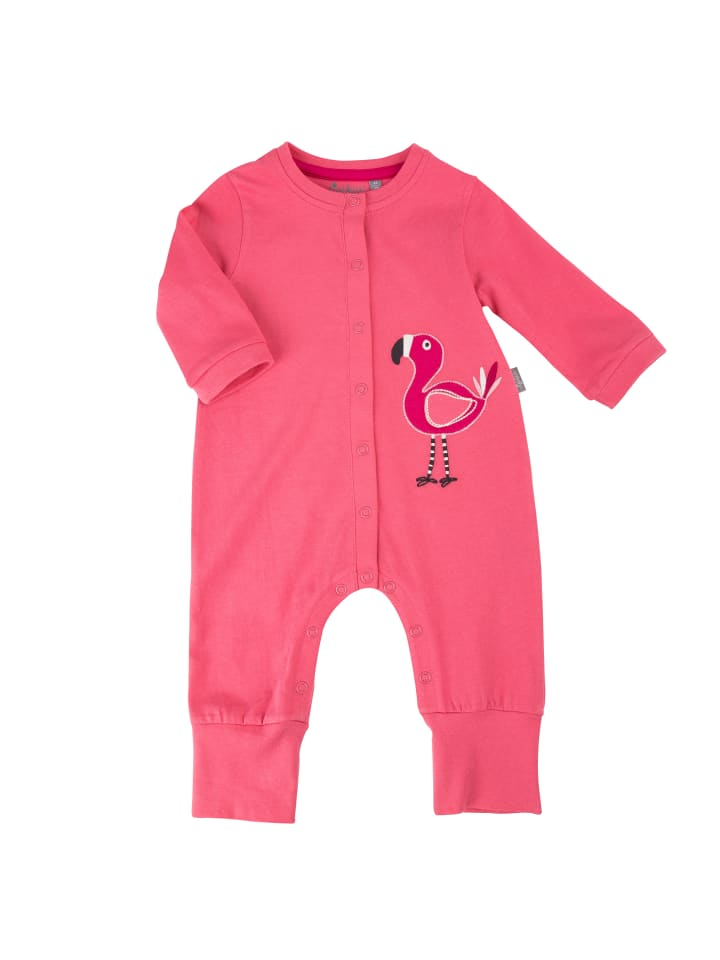 """Sigikid Schlaf-Overall """"Flamingo"""" in Rosa"""