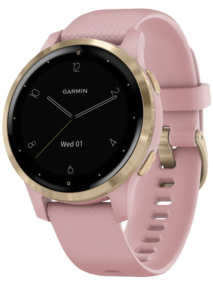 Garmin vivoactive 4s GPS Fitness-Smartwatch Rosa/Gold