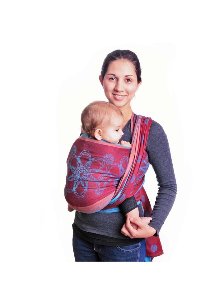 Hoppediz Babytragetuch gewebtes Tragetuch in Marrakesch