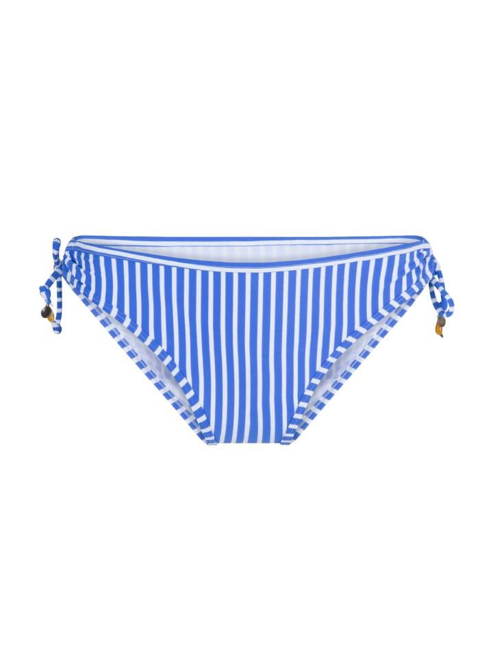 Linga Dore Bikini Slip mit Schnur BOSSA in Print