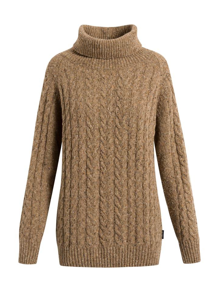 Sea Ranch Sweatshirt Paulette in camel