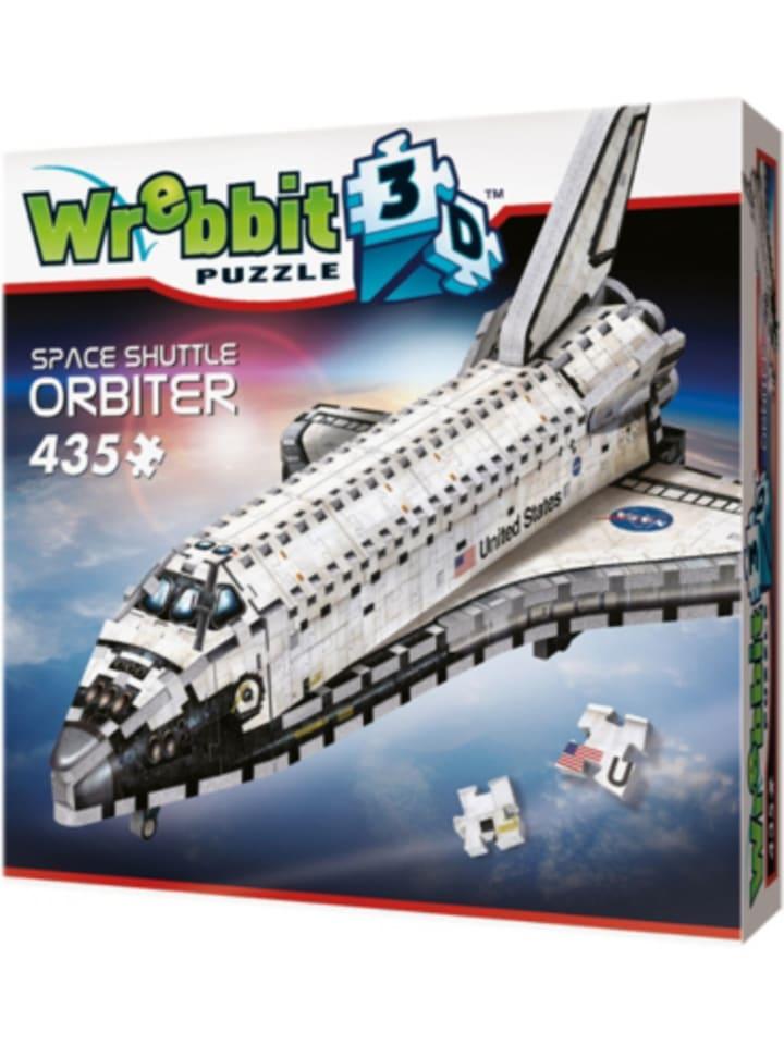 Wrebbit 3D Puzzle 430 Teile Orbiter-Space Shuttle